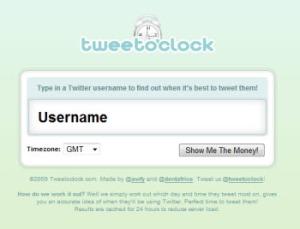 tweetoclock